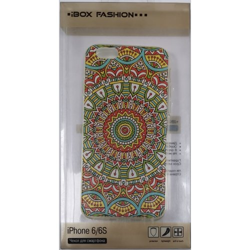 Чехол (клип-кейс) iBox Fashion для Apple iPhone 6/6s узоры