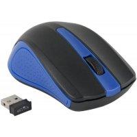 Мышь беспроводная Oklick 485MW Black/Blue