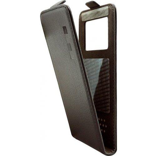 "Чехол (флип-кейс) InterStep Next для смартфона 4.7""-5"" Black"