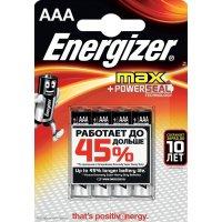 Батарейка Energizer Max 1.5V AAA-LR03 4шт