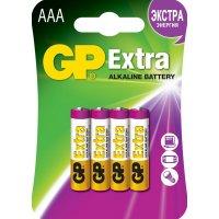 Батарейка GP Extra 1.5V AAA-LR03 4шт