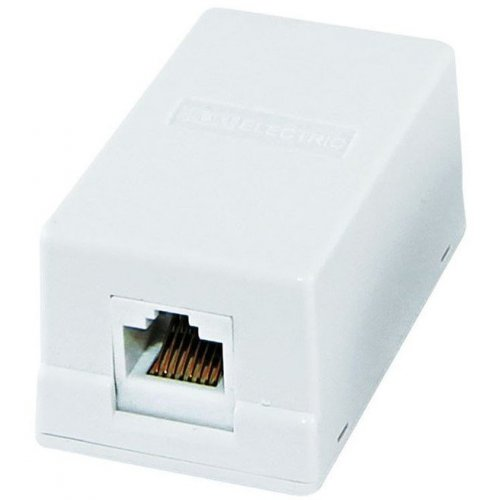 Розетка компьютерная TDM Electric RG45 SQ1809-0003