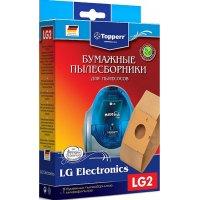 Бумажные пылесборники Topperr LG2 для пылесосов LG
