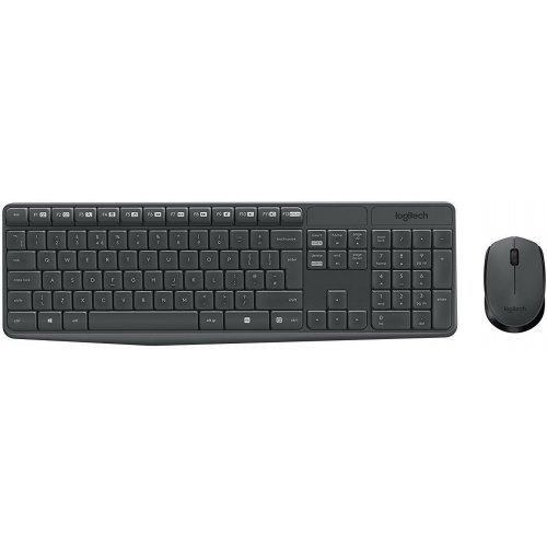 Беспроводной набор Logitech MK235 (клавиатура+мышь) Black