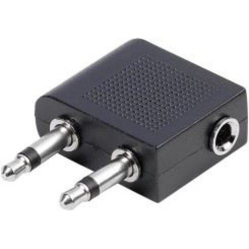 Адаптер Vivanco 41111 2 x 3.5 Jack plug - 3.5 Jack socket stereo