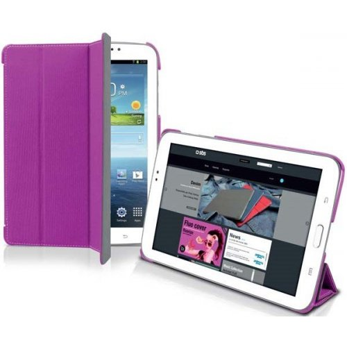 "Чехол (книжка) для планшета 7"" SBS 151378 Samsung Galaxy Tab 3 Розовый"