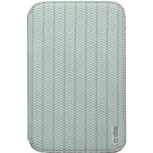 "Чехол (книжка) для планшета 7"" SBS 184623 Samsung Galaxy Tab 3 Бирюзовый с узором"