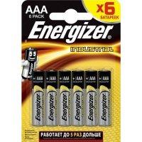 Батарейка Energizer Industrial 1.5V AAA-LR03 6шт