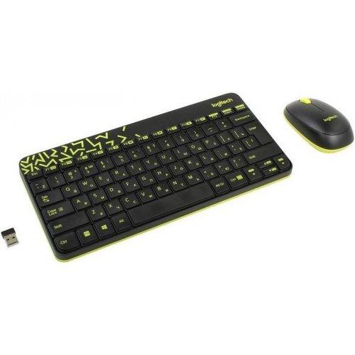 Беспроводной набор Logitech MK240 Nano (клавиатура+мышь) Black