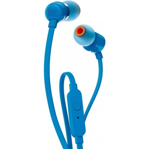 Наушники с микрофоном JBL T110 Blue