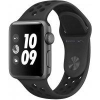Смарт-часы Apple Watch S3 38mm (MTF12RU/A) Space Grey Al/Black Nike Sport