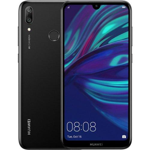 """Смартфон Huawei Y7 2019 3/32Gb 6.26"""" Полночный черный"""