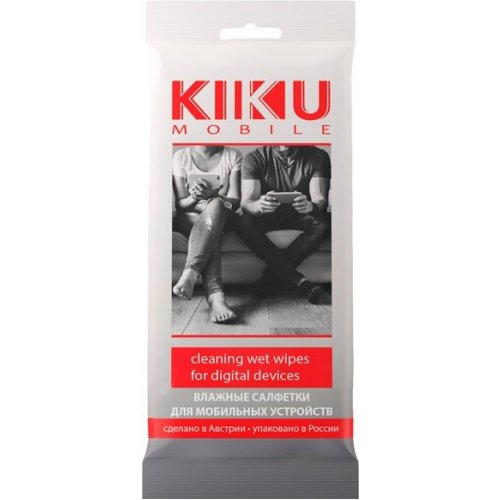 Салфетки для экрана Kiku Mobile 15 шт