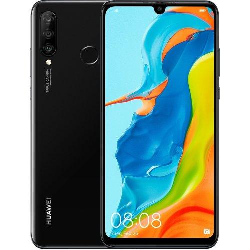 """Смартфон Huawei P30 Lite 128Gb RAM 4Gb 6.15"""" Полночный черный"""