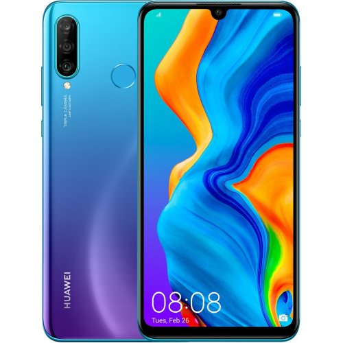 "Смартфон Huawei P30 Lite 128Gb RAM 4Gb 6.15"" Насыщенный бирюзовый"