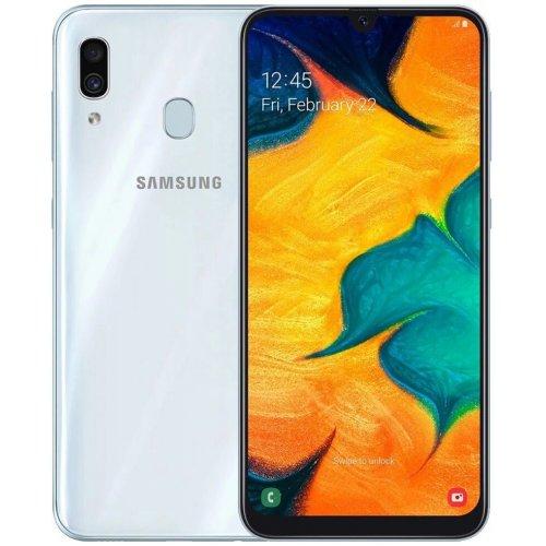 """Смартфон Samsung Galaxy A30 32Gb [SM-A305F] 6.4"""" White"""