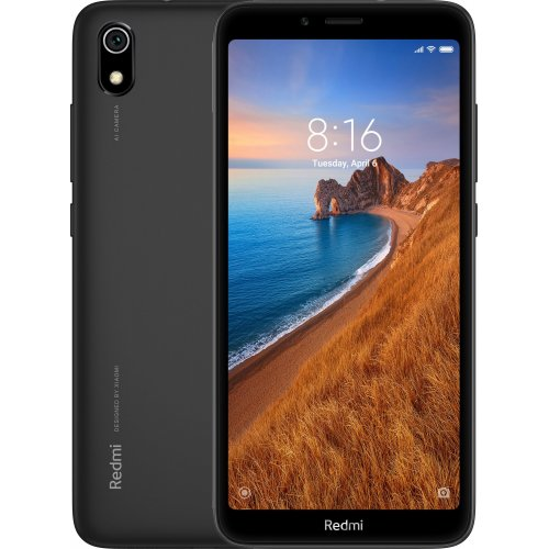 "Смартфон Xiaomi Redmi 7A 2/16Gb 5.45"" Matte Black"