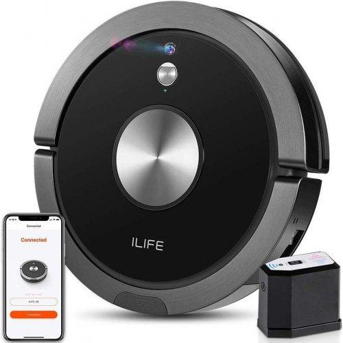 Робот пылесос iLife A9s Black