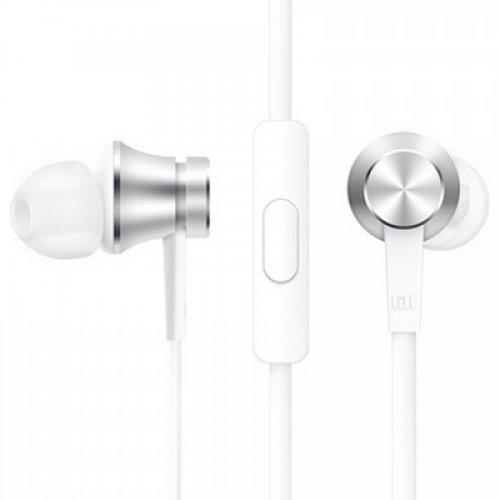 Наушники с микрофоном Xiaomi Mi In-Ear Headphones Basic ZBW4355TY Silver