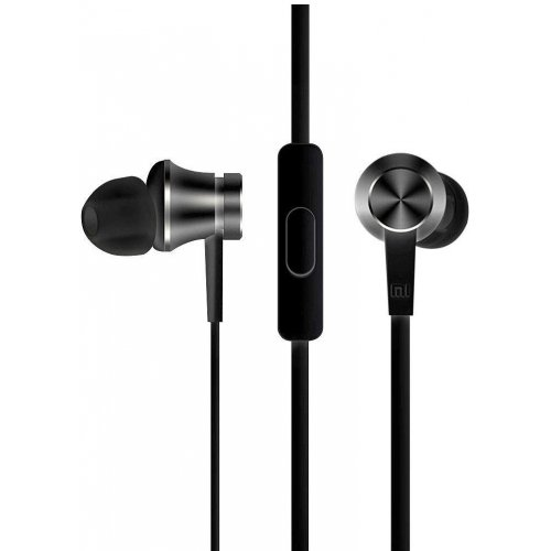 Наушники с микрофоном Xiaomi Mi In-Ear Headphones Basic ZBW4354TY Black