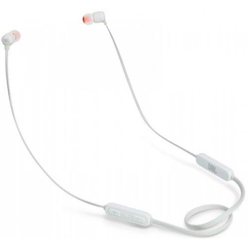 Наушники беспроводные c микрофоном JBL T190BT White