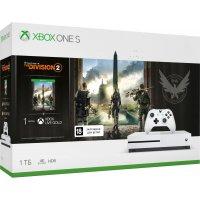 Игровая приставка Microsoft Xbox One S 1Tb (234-00882) +The Division 2 +1 мес Xbox Live Gold