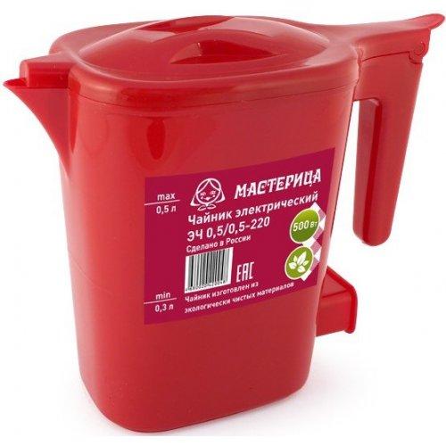 Чайник Мастерица ЭЧ 0,5/0,5-220 Красный