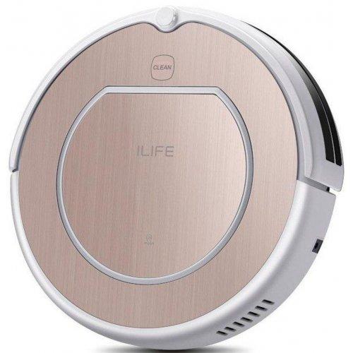 Робот пылесос iLife V50 Pro Rose Gold