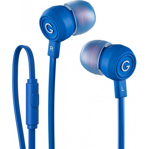 Наушники с микрофоном Gal HMP-795BL Blue