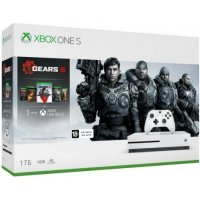 Игровая приставка Microsoft Xbox One S 1Tb (234-01030) +Gears 5 +1M Live Gold...