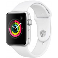 Смарт-часы Apple Watch S3 38mm (MTEY2RU/A) Silver Al/White Sport