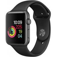 Смарт-часы Apple Watch S3 38mm (MTF02RU/A) Space Grey Al/Black Sport
