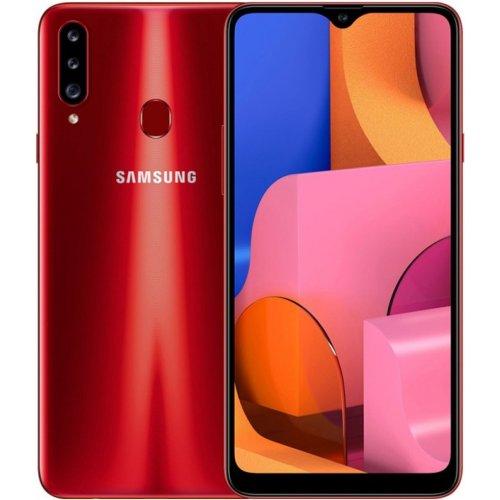 "Смартфон Samsung Galaxy A20s 3/32Gb [SM-A207F] 6.4"" Красный"