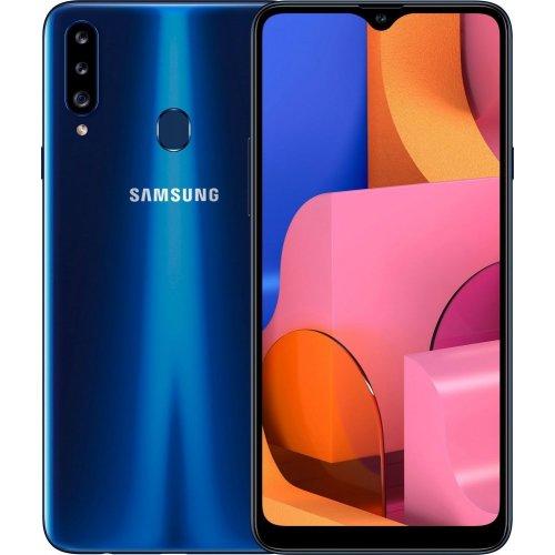 "Смартфон Samsung Galaxy A20s 3/32Gb [SM-A207F] 6.4"" Синий"