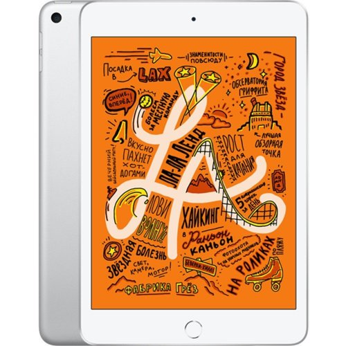 """Планшет Apple iPad mini 2019 Wi-Fi 256Gb (MUU52RU/A) 7.9"""" Silver"""
