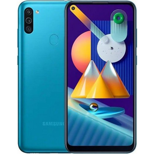 "Смартфон Samsung Galaxy M11 3/32Gb [SM-M115F] 6.4"" Бирюзовый"