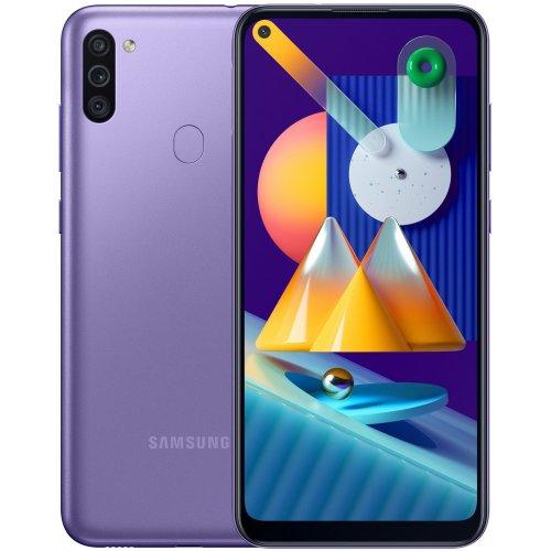 """Смартфон Samsung Galaxy M11 3/32Gb [SM-M115F] 6.4"""" Фиолетовый"""