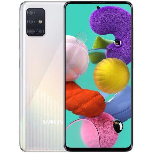 """Смартфон Samsung Galaxy A51 4/64Gb [SM-A515F] 6.5"""" Белый"""