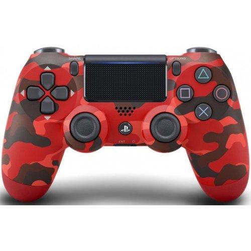 Геймпад Sony DualShock 4 v2 (CUH-ZCT2E) Красный камуфляж